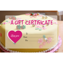 Gift Certificate - 576px